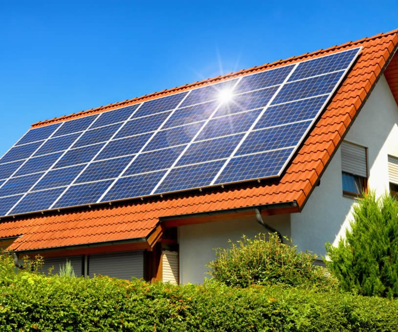 Green architecture & Solar Power House Plans